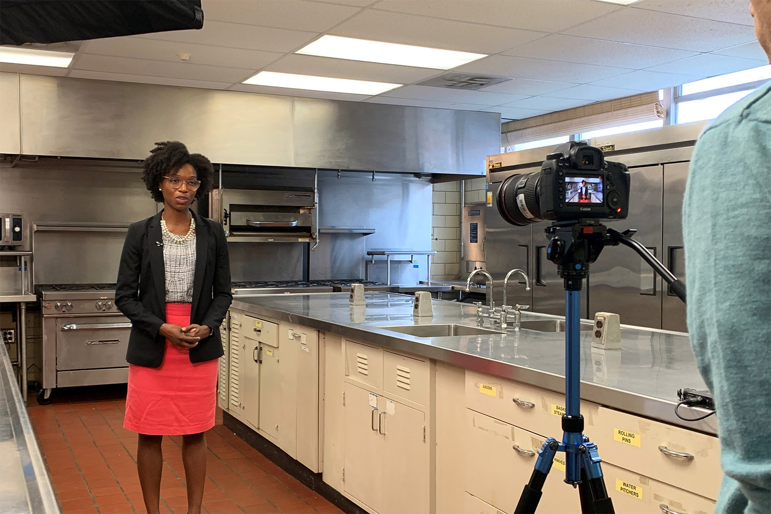 Researcher studying ways to decrease hypertension in Black adults through dietary program